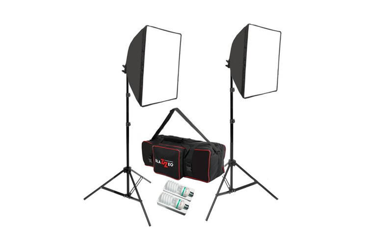 Daylight 400W + 400W Softbox